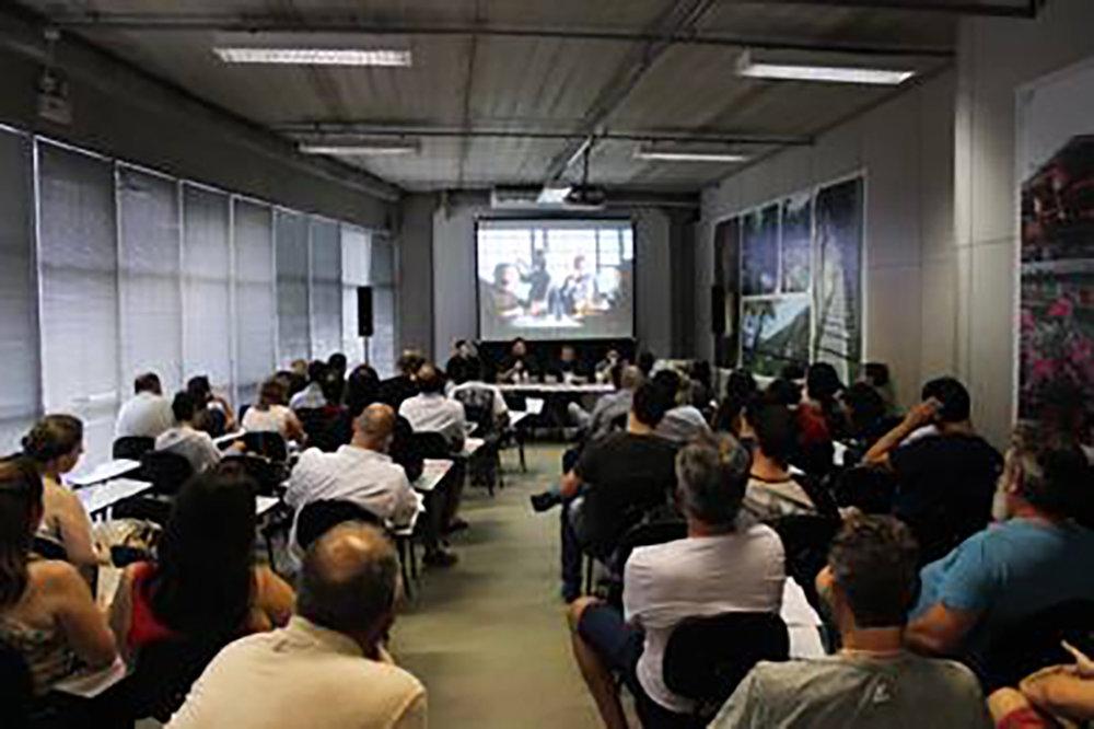 A programação de palestras se  concentra na Vila Germânica (Foto: Divulgação)