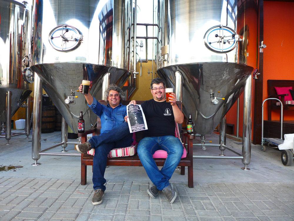 Samuel e Paulo Cavalcanti se preparam para a terceira produção colaborativa no Reino Unido (Foto: Divulgação)