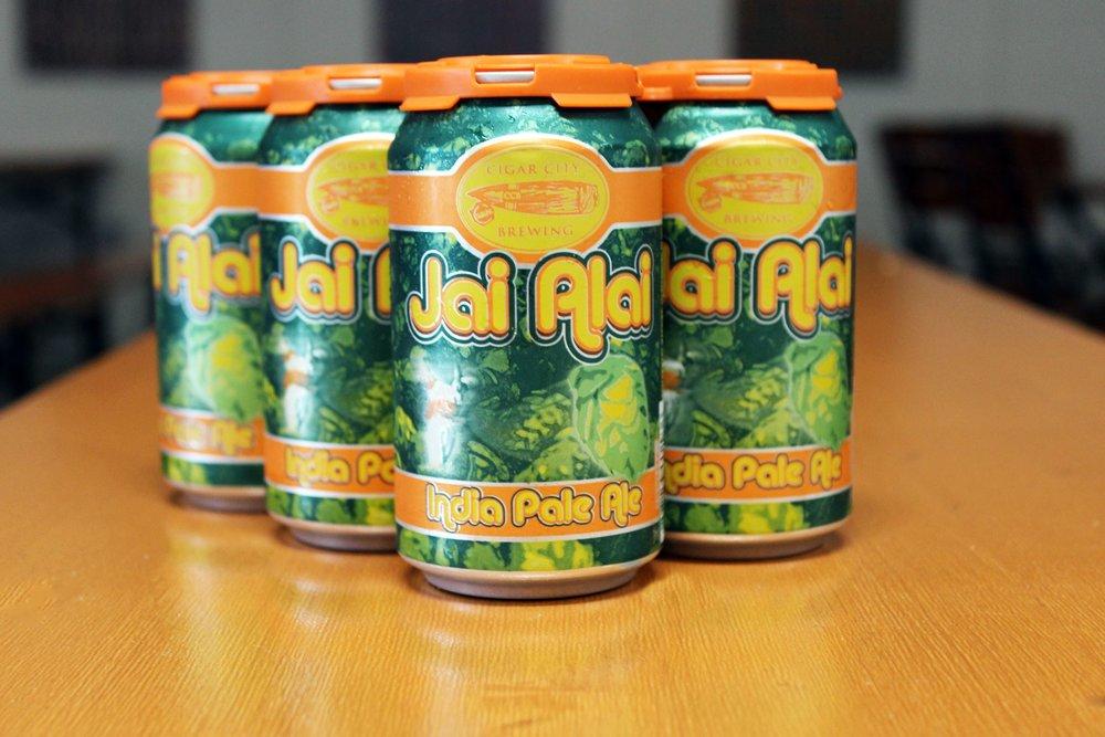Jai Alai é uma IPA com 7,5% de teor alcoólico, nota 99 no Rate Beer, e uma das mais vendida na modalidade 6 pack nos EUA (Foto: Divulgação)