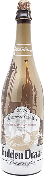 Gulden Draak Brewmasters Edition 2016    Estilo: Belgian Strong Ale  ABV: 10,5%  Formato: garrafa (750 mL)  Rate Beer: 96