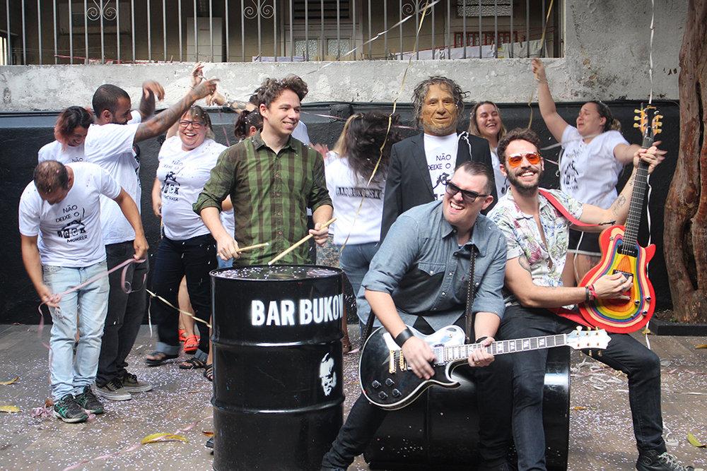 Diferentemente de blocos que tocam rock em ritmo de marchinha ou samba, a proposta é tocar na forma clássica (Foto: Divulgação)