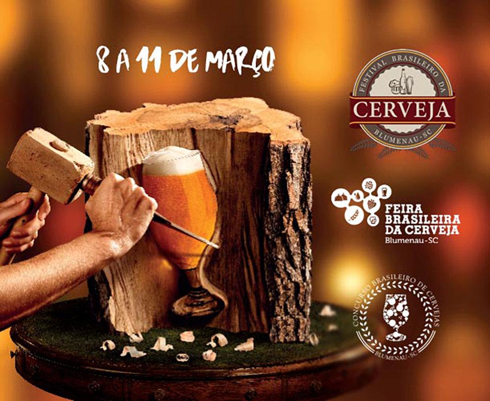 Em paralelo ao festival, há uma feira e o Concurso Brasileiro de Cervejas (Foto: Divulgação)