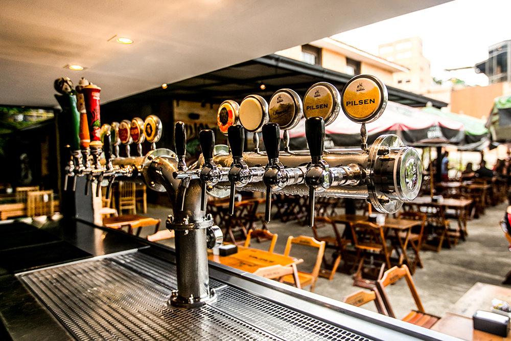 Uma das atrações do polo cervejeiro da serra do Rio, o bar da Bohemia é reinaugurado em 13 de abril (Foto: Divulgação)