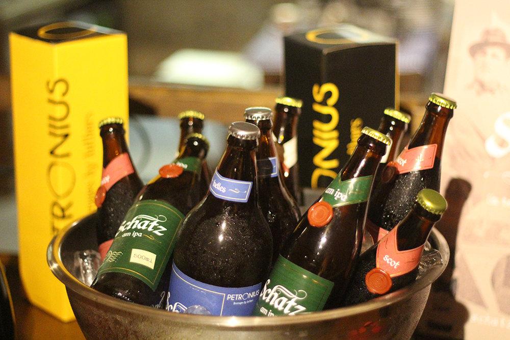 Cinco opções de estilo da Schatz Bier são incluídos na degustação (Foto: Divulgação)