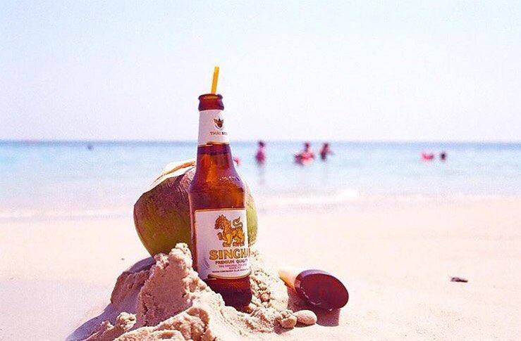 Criada em 1933, cerveja foi elevada à condição de fornecedora oficial da Corte Real Tailandesa em 1939 (Foto: Divulgação)