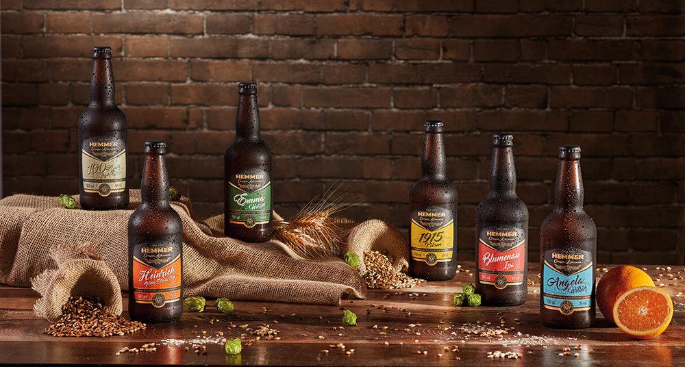 Linha de cervejas da centenária empresa de alimentos de Blumenau foi lançada em outubro de 2016 (Foto: Divulgação)