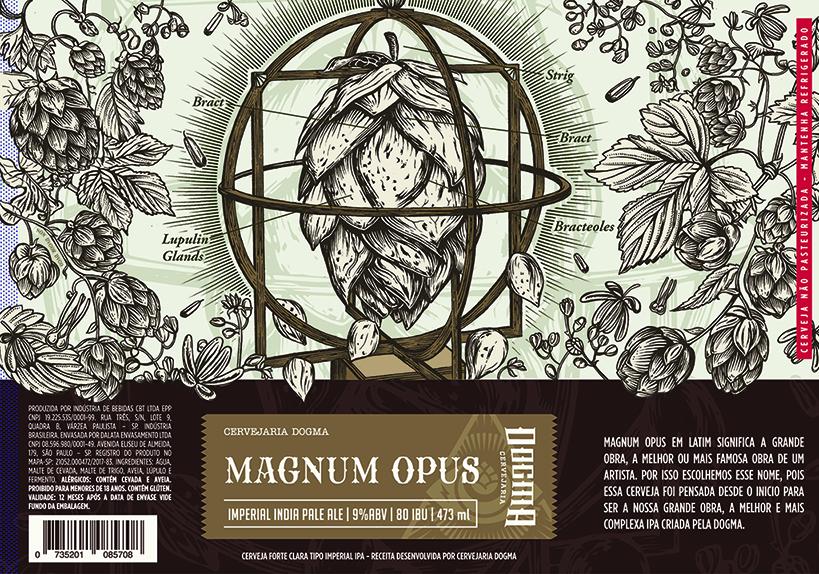 Magnum Opus é produto da obsessão da Dogma pelo lúpulo (Foto: Divulgação)