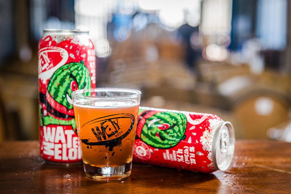 Para acentuar a refrescância da cerveja,foram utilizadas três toneladas de melancia de verdade na Watermelon Ale (Foto: Priscilla Fiedler/Divulgação)