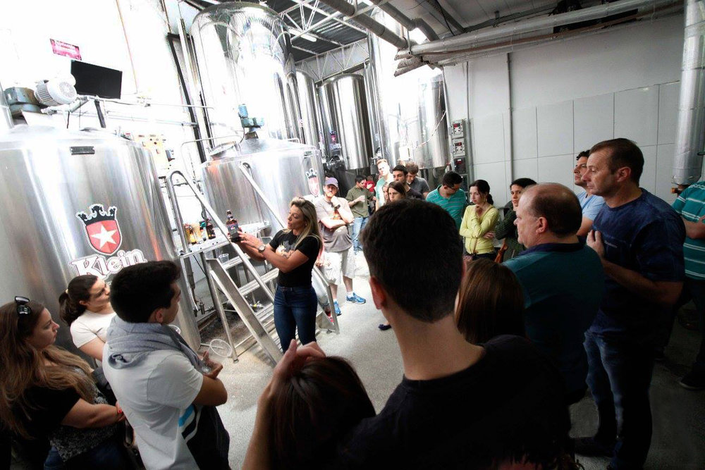 Durante as visitas, é possível conhecer o processo de fabricação, toda a linha da Klein e curiosidades (Foto: Divulgação)