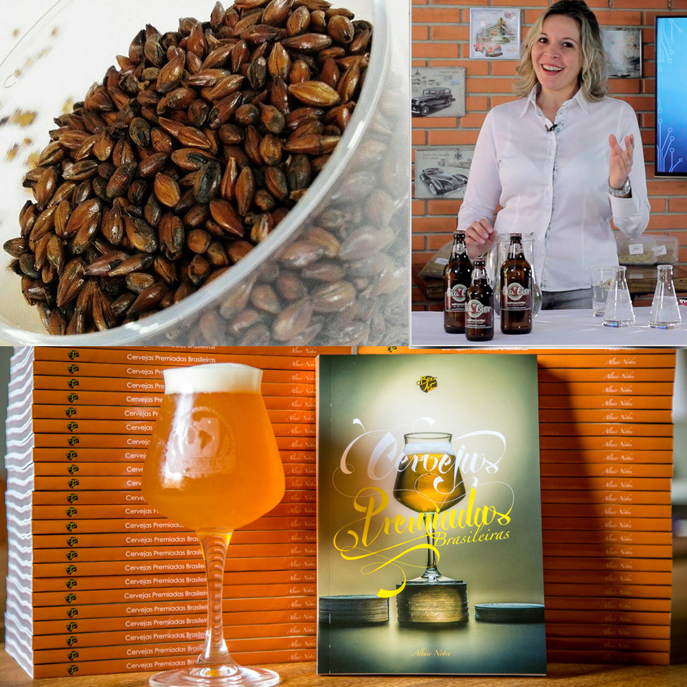 Livro ao participante da promoção da Bia Bier (ao alto)traz índice que cruza os critérios de cada estilo conforme as duas principais referências dos cervejeiros, os guias BJCP e Brewers Association (Fotos: Divulgação)