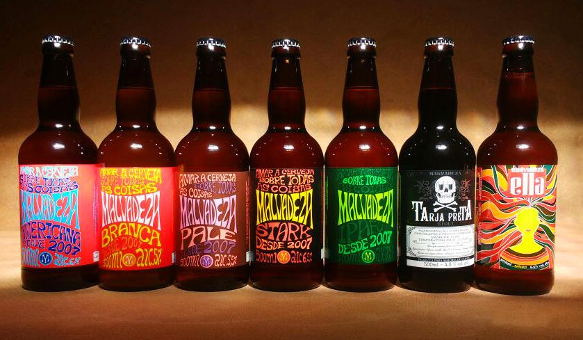A linha da cervejaria gaúcha conta com sete rótulos (Foto: Divulgação)