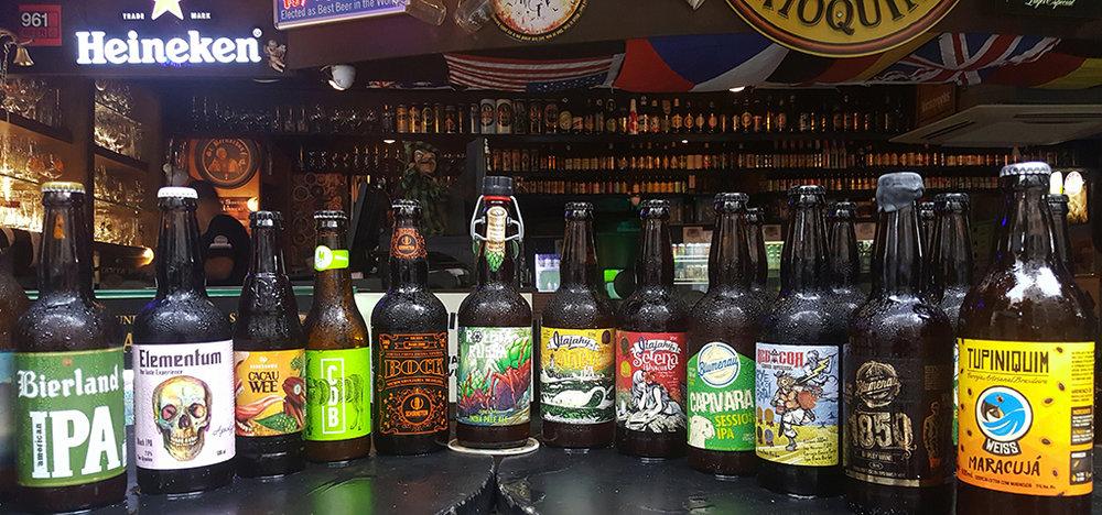 """Boteco Carioquinha é um dos bares """"invadidos""""por cervejas do Sul (Foto: Sérgio Crespo/Divulgação)"""