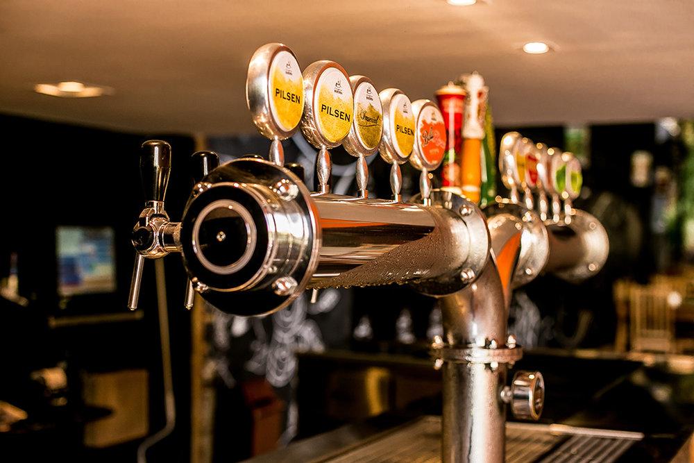 Bar da Bohemia é um dos pontos do complexo cervejeiro na serra fluminense (Foto: Divulgação)