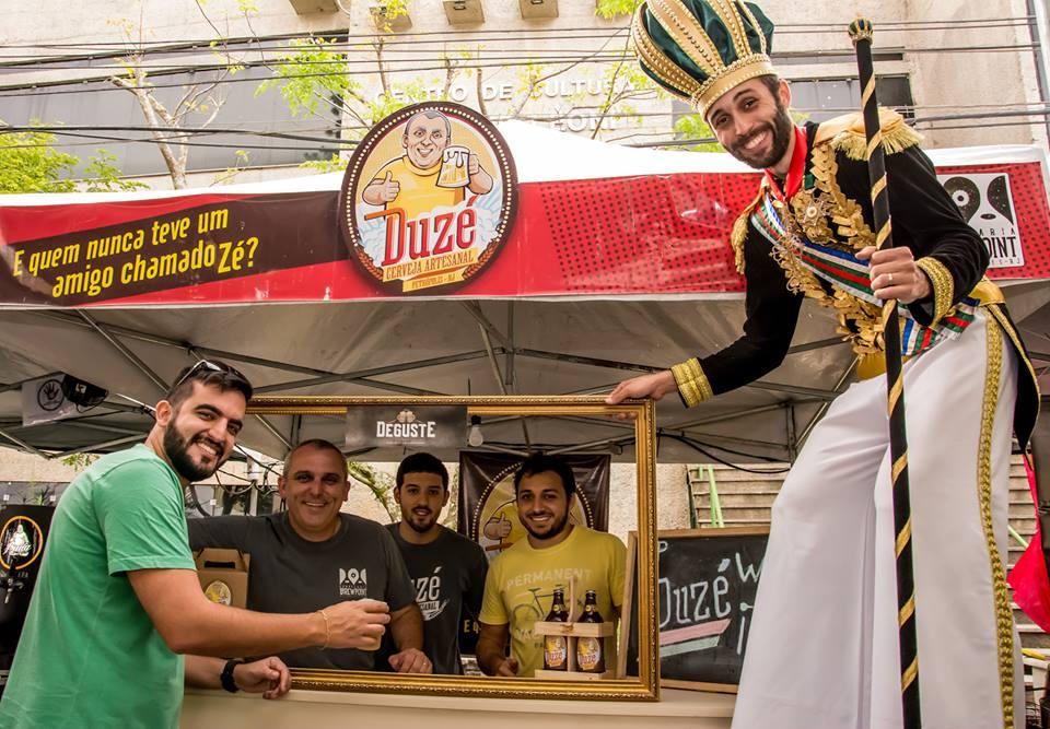 Deguste reúne cervejarias locais como a Duzé e convidadas, food trucks e música (Foto: Divulgação)