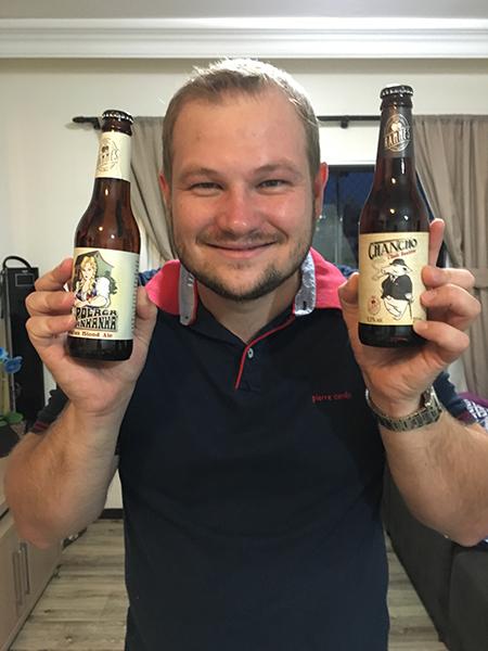 Marlon Hammes, da Hammes Beer (Foto: Divulgação)