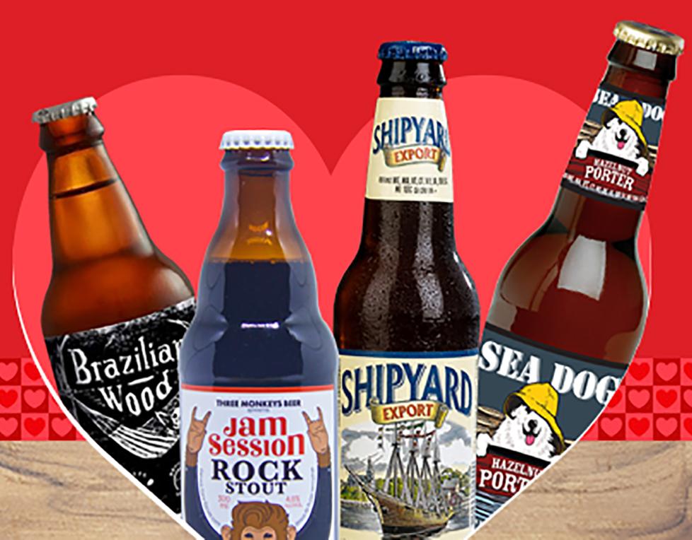 Na imagem, estão as cervejas selecionadas para o mês de junho (Foto: Divulgação)