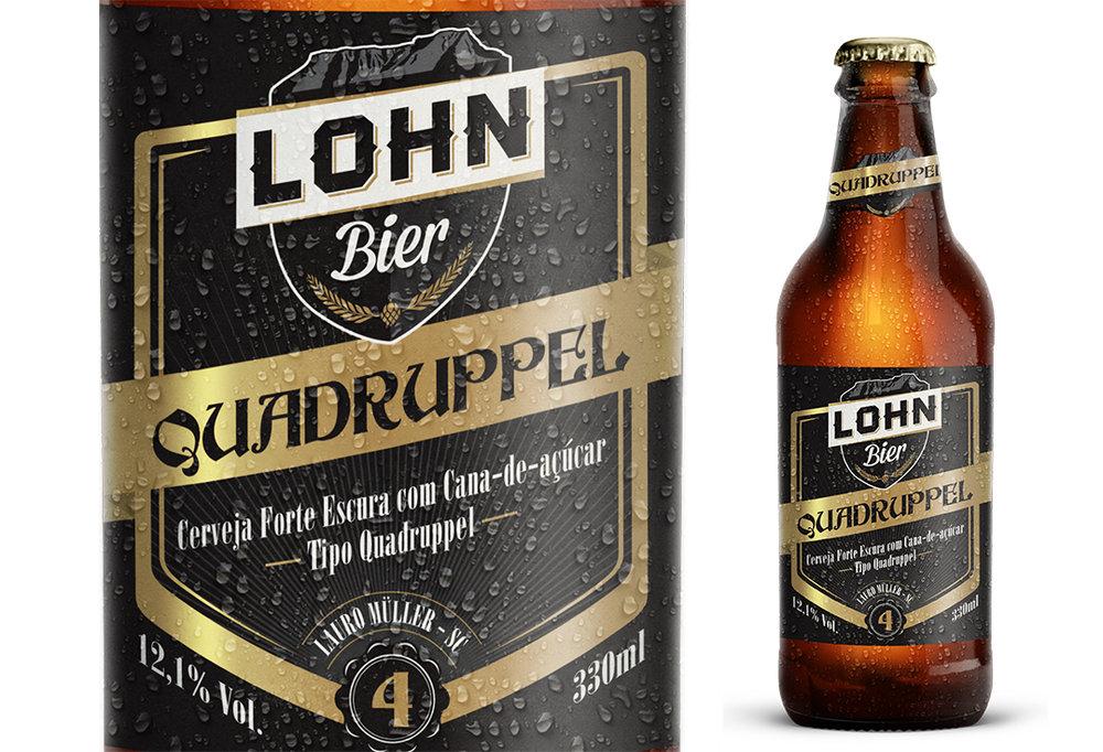 Quadruppel garantiu à cervejaria de Lauro Müller a principal medalha (Foto: Divulgação)