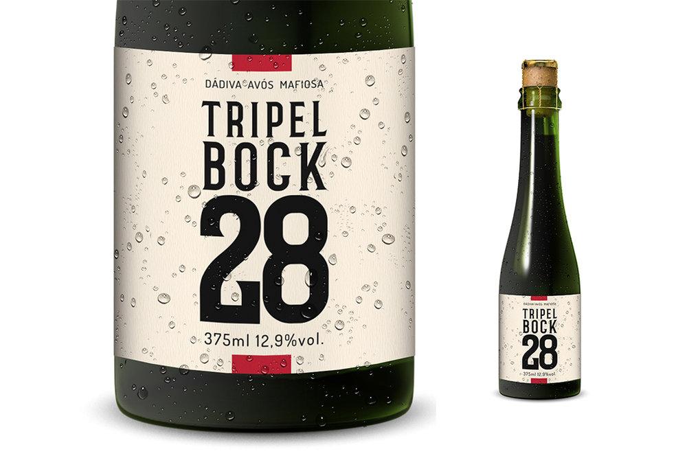 Nova cerveja é uma Lager que vai além de uma Doppelbock, com teor alcoólico de 12,9% (Foto: Divulgação)