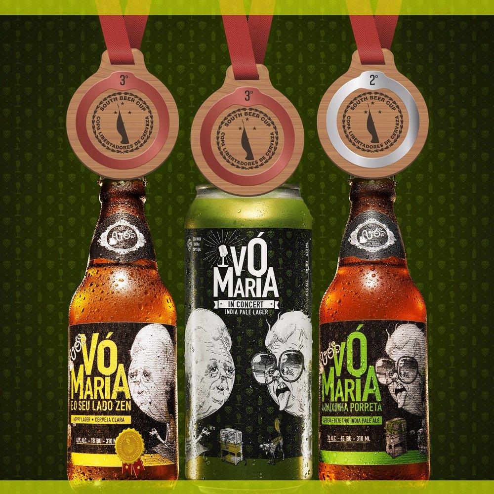 Entre as três premiadas, está a melhor American IPA da América do Sul (Foto: Divulgação)