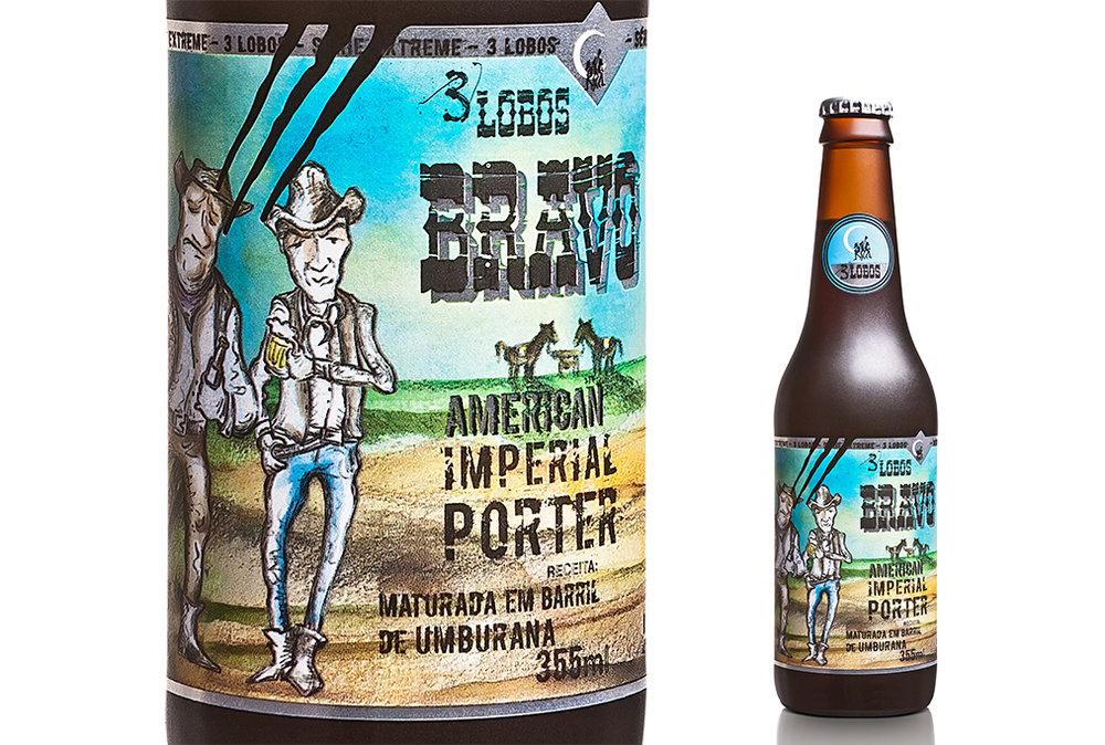 A Imperial Porter maturada em barril de umburana é uma das mais premiadas cervejas brasileiras (Foto: Divulgação)