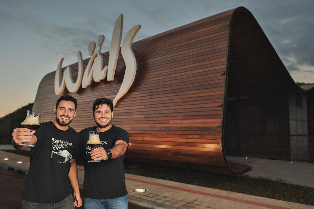 À frente do projeto estão os irmãos José Felipe e Tiago Carneiro, fundadores da Wäls (Foto: Divulgação)