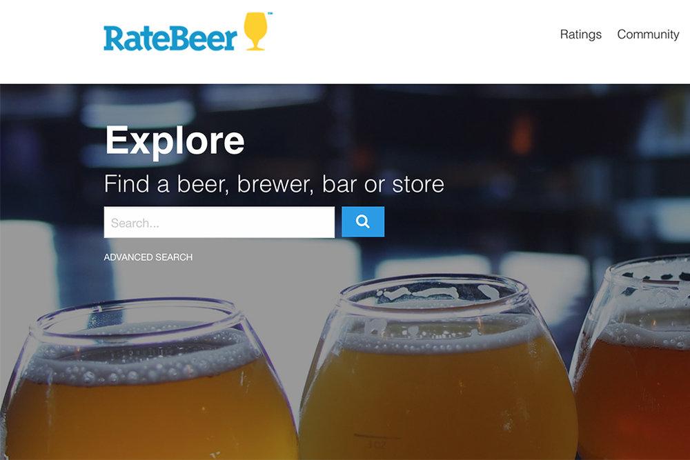 RateBeer é a principal plataforma de avaliação de cervejas no mundo (Foto: Reprodução)