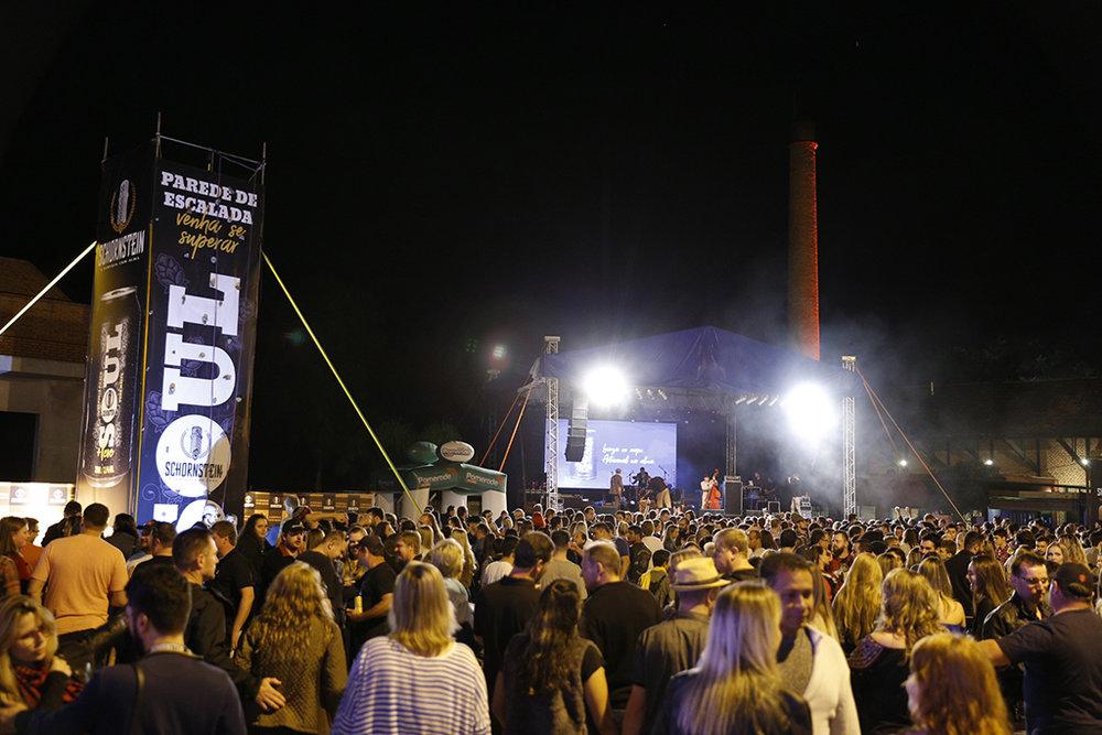 Festival cresceu em comparação com a primeira edição, que marcou os 10 anos da cervejaria em Pomerode (Foto: Daniel Zimmermann/Divulgação)