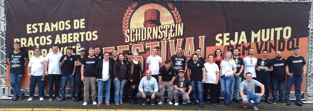 Equipe da Schornstein (Foto: Divulgação)