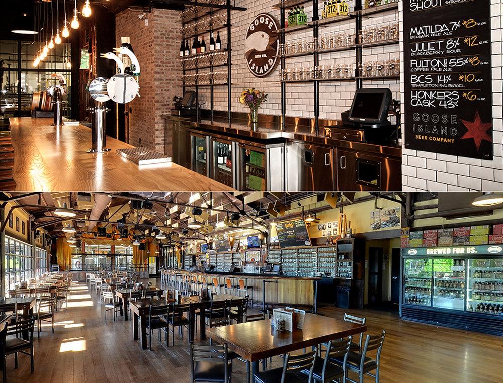 A Goose Island, em Chicago, e a Founders, em Grand Rapids, estão entre as mais celebradas cervejarias americanas (Fotos: Divulgação)