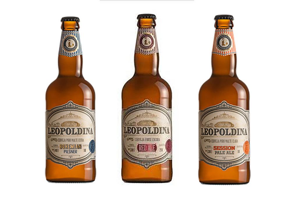 Os três novos rótulos se junto aos cinco outros estilos oferecidos pela cervejaria gaúcha (Foto: Divulgação)