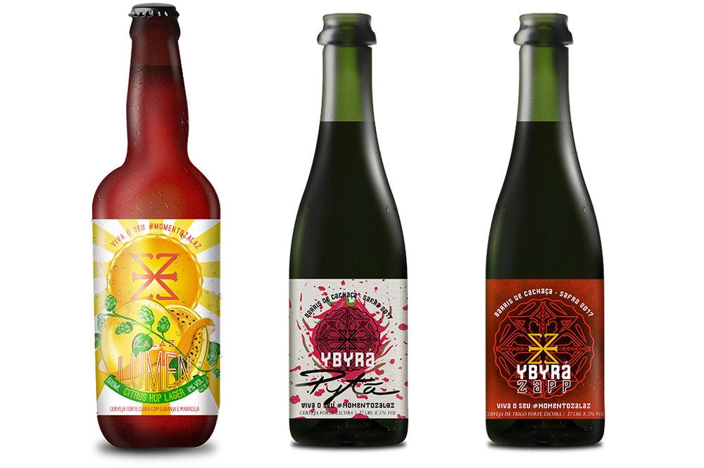 Confira na matéria as fichas das novas cervejas da ZalaZ (Fotos: Divulgação)