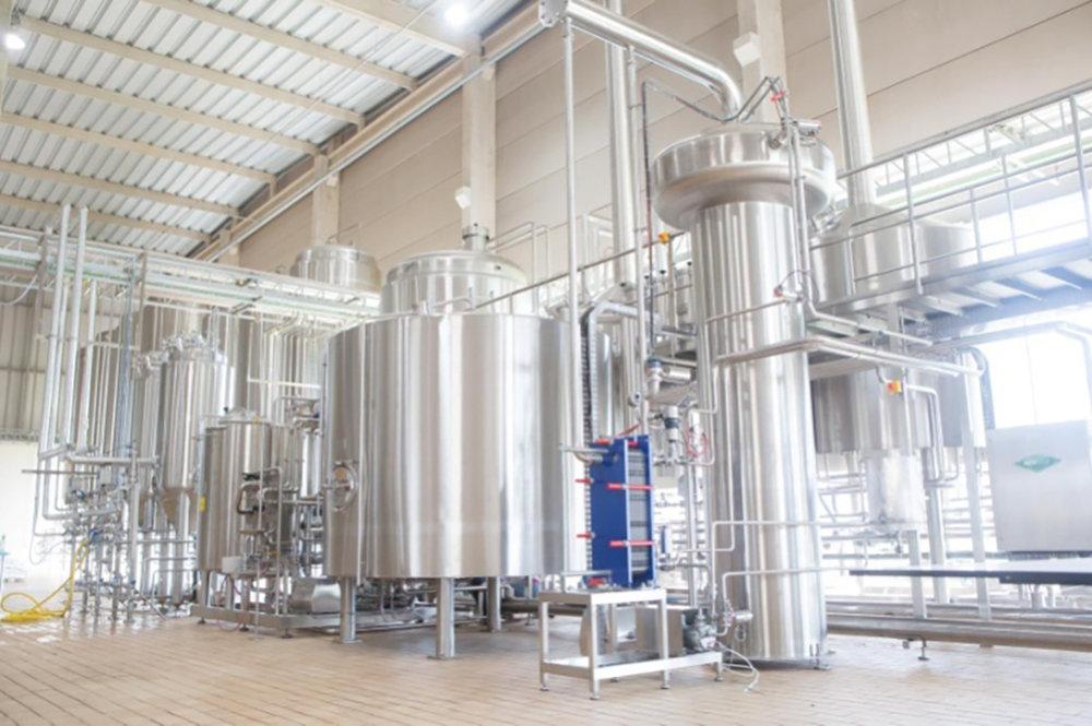 Fábrica da Berggren, no interior de São Paulo, produz cervejas premiadas (Foto: Divulgação)