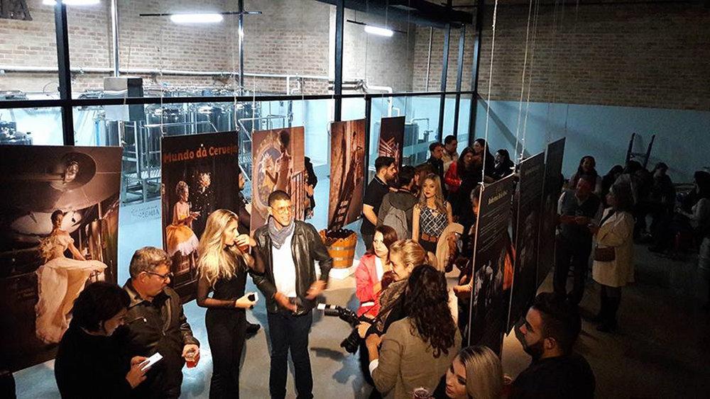 Abertura da exposição ocorreu na terça-feira, 20 de junho (Foto: Divulgação)