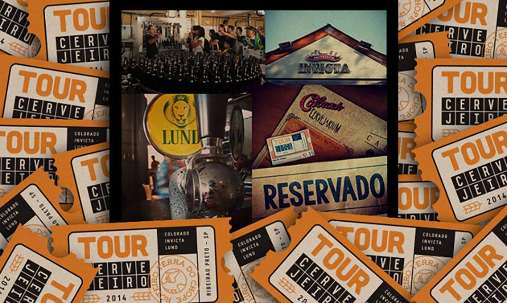 O tour cervejeiro nasceu em Ribeirão Preto em junho de 2014 (Foto: Divulgação)