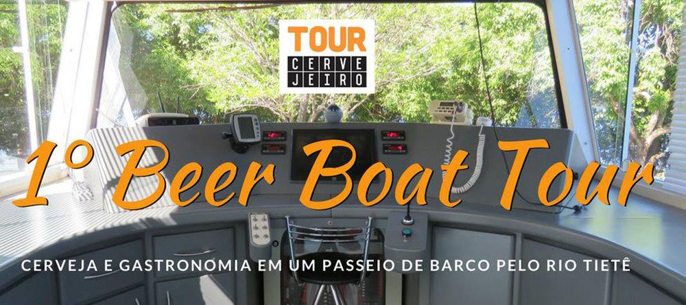 Peça de divulgação do passeio cervejeiro, que se realiza em 29 de julho (Foto: Divulgação)