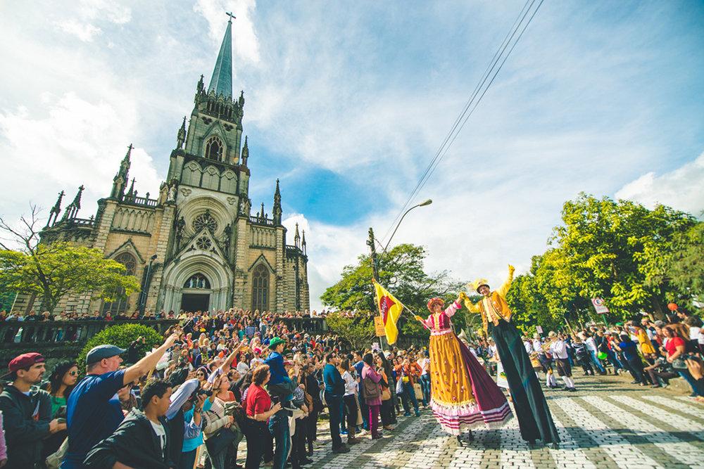 Realizada em Petrópolis, a Bauernfest é uma das principais festas germânicas do Brasil (Foto: Divulgação)