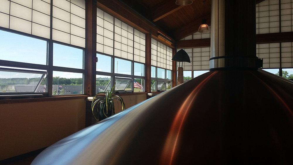 """A """"cozinha"""" da Cervejaria Bell's, em Kalamazoo, no Michigan (Foto: Divulgação)"""