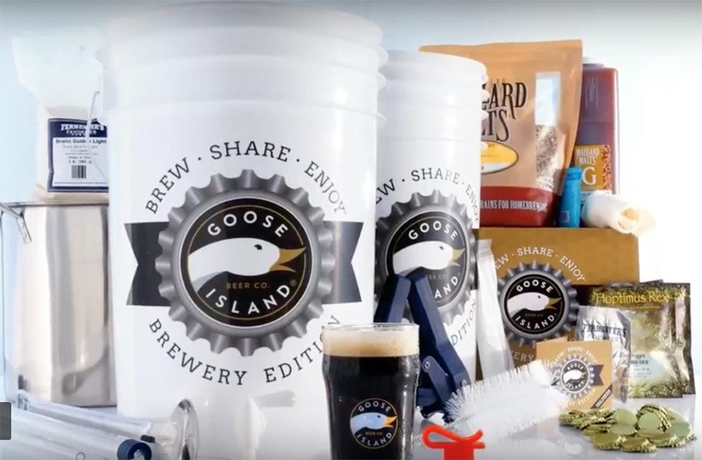 Vídeo seduz com a possibilidade de o apreciador de cerveja fabricar em casa uma Goose Island (Foto: Reprodução)