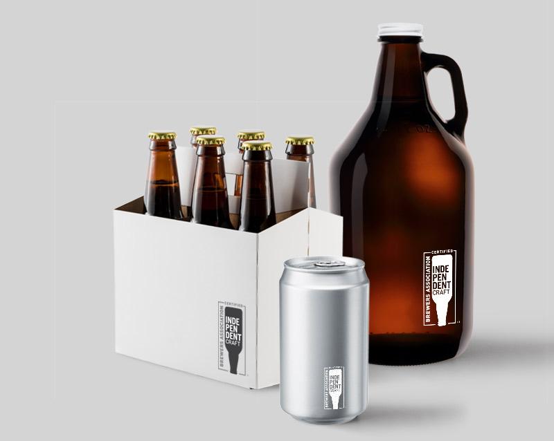 Como é o selo que a Brewers Association estimula que as milhares de cervejarias independentes nos Estados Unidos imprimam em suas embalagens (Foto: Divulgação)
