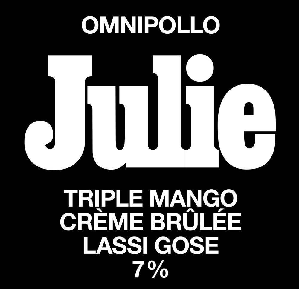 Julie-fatskylt