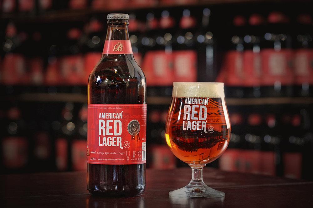 A premiada American Red Lager é um dos destaques da cervejaria mineira (Foto: Divulgação)