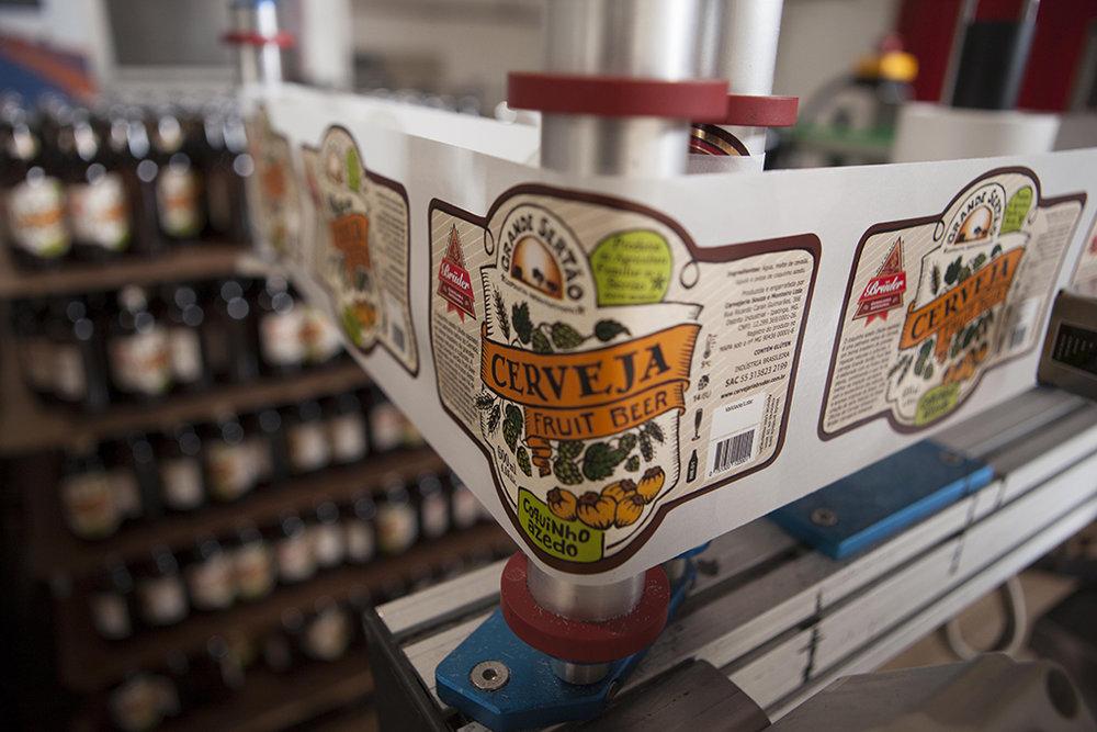 Fruit Beer foi feita em parceria com a Cooperativa dos Agricultores Familiares Grande Sertão, de Montes Claros/MG (Foto: Nilmar Lage/Divulgação)
