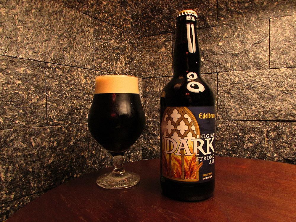Edelbrau Belgian Dark Strong Ale começa a ser vendida na loja de fábrica e em bares selecionados (Foto: Divulgação)