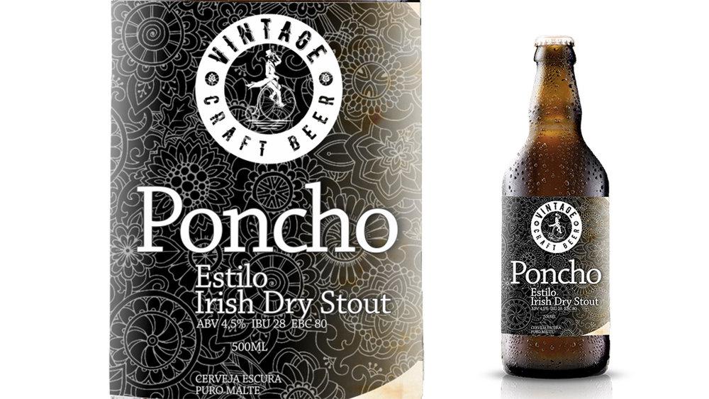Dry Stout amplia a linha da Vintage Craft Beer, que faz parte do polo cervejeiro de Porto Alegre (Foto: Divulgação)