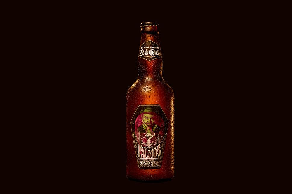 Primeira cerveja da linha é uma Session IPA, a 7 Palmos(Foto: Divulgação)