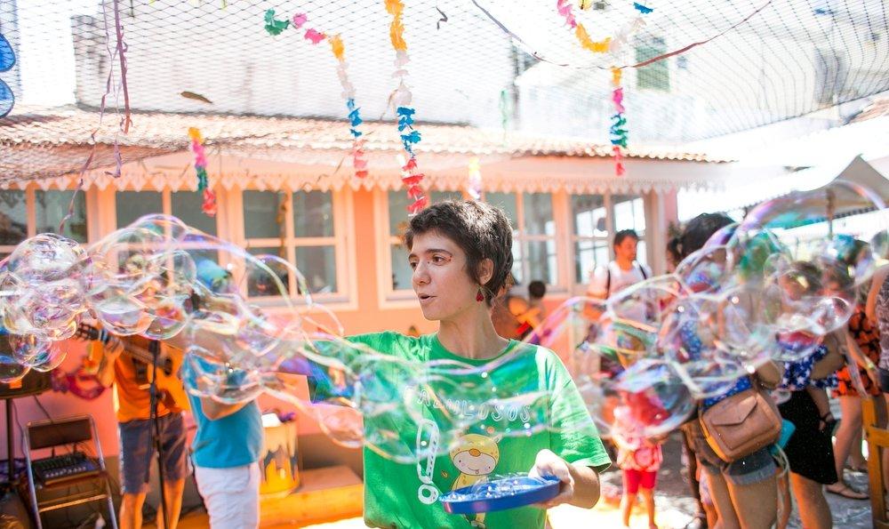 A criançada vai contar com o grupo Os Fabulosos, que se apresenta sábado e domingo de graça (Foto: Divulgação)