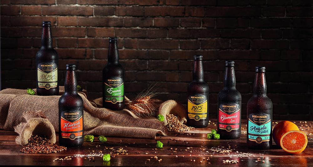 Depois de um século consolidada no ramo de alimentos, a Hemmer, fundada em uma cidade referência em cerveja,lançou linha da bebida (Foto: Divulgação)