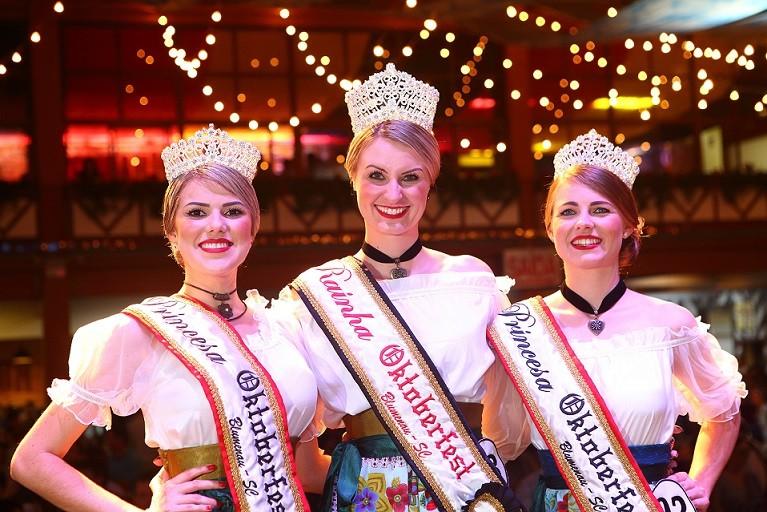 Concurso paulistano se inspira nas soberanas da Oktoberfest de Blumenau (Foto: Divulgação)