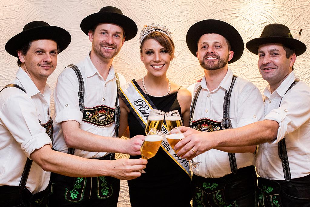 A Oktoberfest Paraná se inspira na festa de Blumenau, a principal no Brasil (Foto: Michel Campestrini/Divulgação)