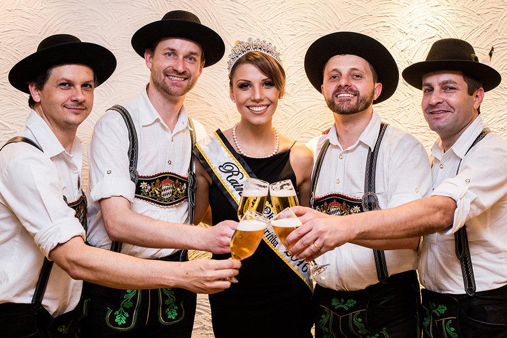 Oktoberfest Paraná se inspira na festa de Blumenau, a principal no Brasil (Foto: Michel Campestrini/Divulgação)